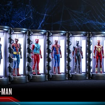 Spider-Man Armory Gets A Series 2 From Hot Toys