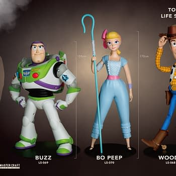 Toy Story Gets 6 Foot Tall Statues with Beast Kingdom