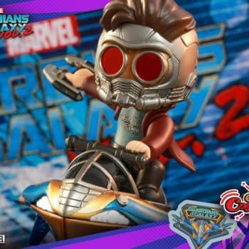 Hot Toy Unveils Marvel CosRiders with Deadpool, Star Lord and More