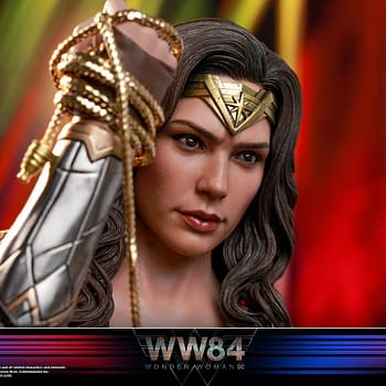 Wonder Woman is Back as Hot Toys Returns Her To 1984