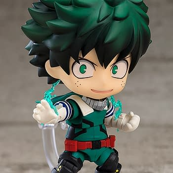My Hero Academia Izuku Midoriya Suits Up With Good Smile