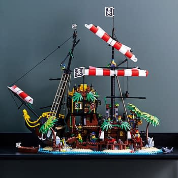 Sail the Seven Seas with New Pirates of Barracuda Bay LEGO Set