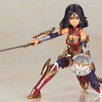 Wonder Woman Gets Animated with New Figure from Kotobukiya