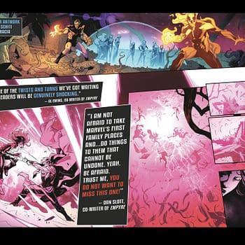 Empyre Peek &#8211 Kree/Skrulls Not The Enemy Hulkling Stabs Carol Danvers
