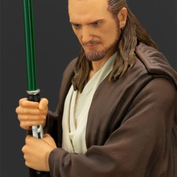 Star Wars Qui-Gon Jinn Gets ArtFX+ Statue from Kotobukiya