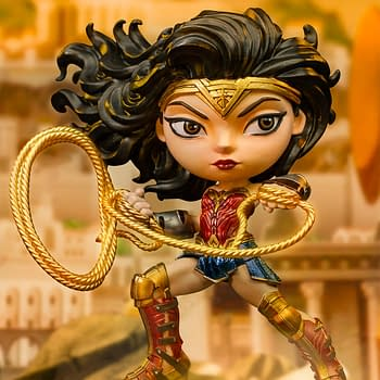 Wonder Woman 1984 Gets A Minico Statue from Iron Studios