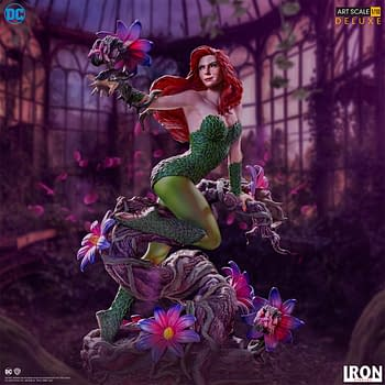 You Cant Cure This Poison Ivy as New Iron Studios Statue Arrives