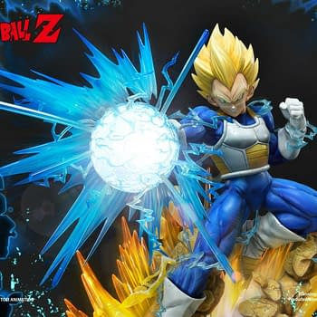 Vegeta Goes Super Sayian with Prime 1 Studios Dragon Ball Z Statue