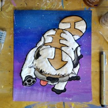 DIY Appa Card for the Avatar: The Last Airbender Fan in Your Life (Image: A. Bodden)