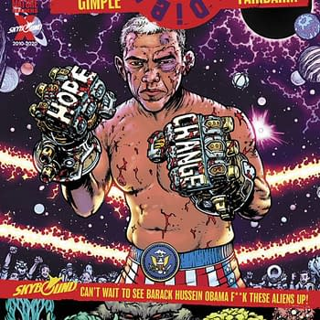 Barack Obama Goes Topless for DieDieDie #14 Cover in October