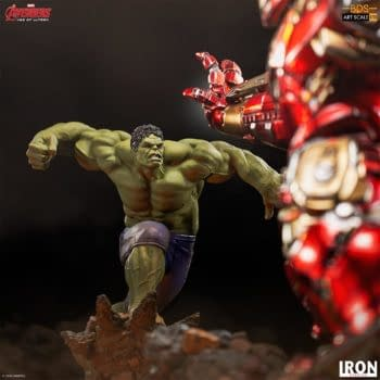 The Hulk Is Ready for the Hulkbuster With Iron Studios