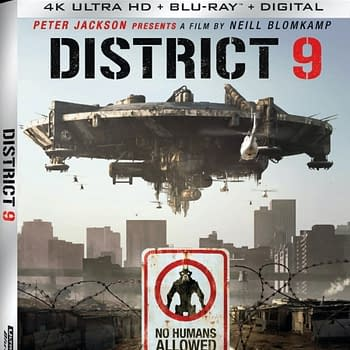 District 9 Gets A 4k Blu-ray Release On October 13th