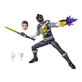 Power Rangers Dino Charge Black Ranger Lightning Collection Fig Debuts