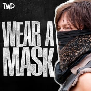 The Walking Dead universe has a message: Wear a Mask! (Image: AMC/Skybound)