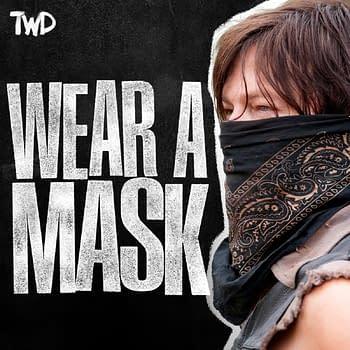The Walking Dead: Daryl King Ezekiel &#038 More Need You Wearing Masks