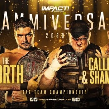 The North Defends Against Shamrock and Callahan at Slammiversary (Image: Impact Wrestling)