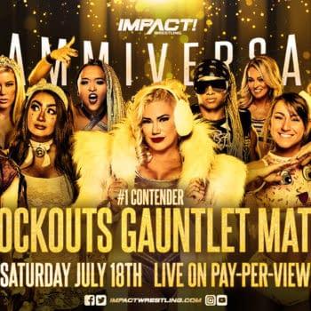 Heath Slater Arrives After Knockouts Gauntlet Match at Slammiversary (Image: Impact Wrestling)