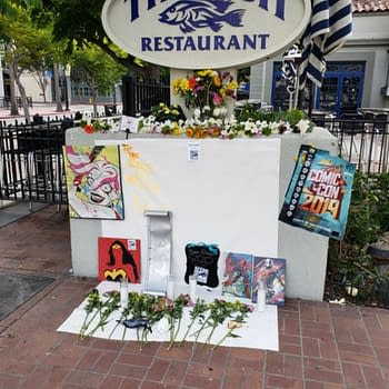 Shrine Built to San Diego Comic-Con Across From Convention Center