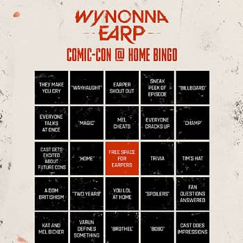 Wynonna Earp Offers SDCC Panel Bingo Cards #WayHaught Shortys 101