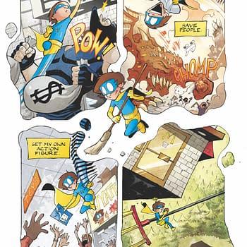 Eric Gapstur Sells Sort Of Super Graphic Novel For Six Figures