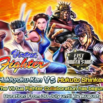 Fist Of The North Star LEGENDS ReVIVE Gets A Virtua Fighter Event