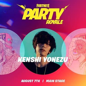 Japanese Superstar Kenshi Yonezu Will Host Fortnites Party Royale