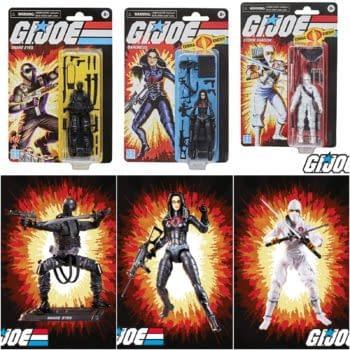 Hasbro Retro GI Joe Line- Exclusive To Walmart, SDCC Commander In Sept