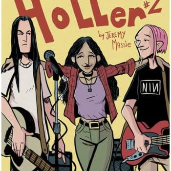 Cover A to Jeremy Massie's Holler #2
