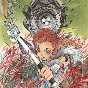 Five Page Preview, and Covers, to Horizon Zero Dawn #1 Comic