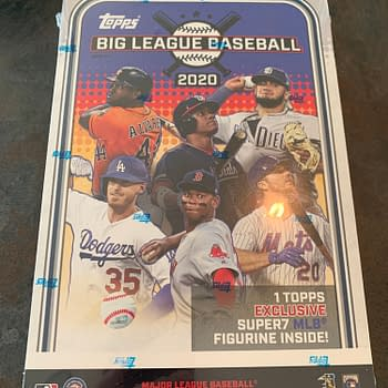 Unboxing The Super7/Topps  2020 MLB Big League Cards &#038 Figure Box
