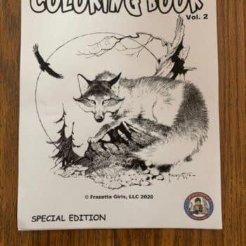 Frank Frazetta Cover Art For ComicBooks For Kids.