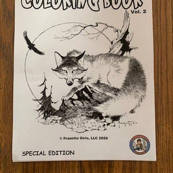 Frank Frazettas Cover Art For ComicBooks For Kids