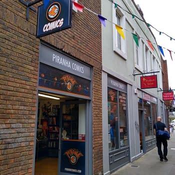 Piranha Comics of London Revitalised in Lockdown Hiring Staff