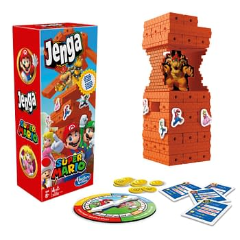 Hasbro Introduces Super Mario Versions Of Jenga &#038 Monopoly