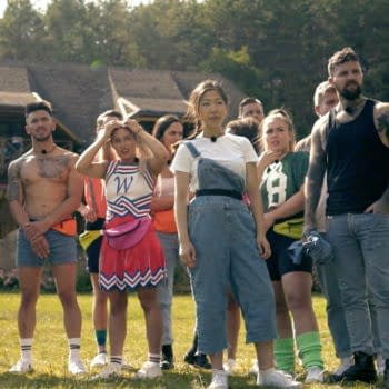A look at reality competition series Killer Camp (Image: The CW)