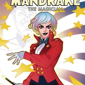 Erica Schultz Genderflips Mandrake The Magician For Red 5 and SDCC