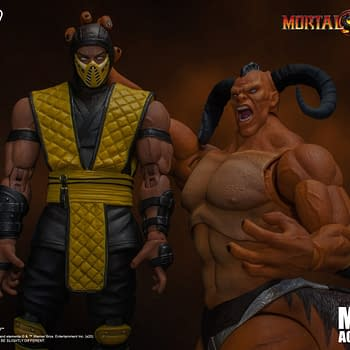Mortal Kombat 3 Motaro Enters the Arena with Storm Collectibles