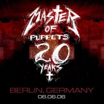 Metallica Mondays Celebrates the Anniversary of Master Of Puppets
