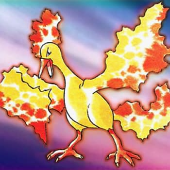 Rare Moltres Pokémon Card From Tropical Mega Battle On Auction