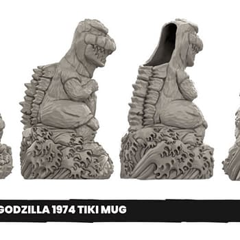 Mondo Releasing Godzilla Pennywise Cave of Wonders Tiki Mugs