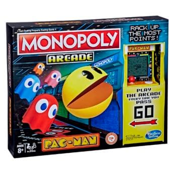 Hasbro Releases Monopoly Arcade Pac-Man Game For 40th Anniversary