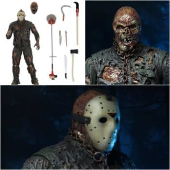 NECA Shocks Horror Fans With Jason Voorhees Figure From The New Blood
