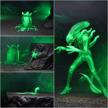 NECAs Final SDCC Exclusive Is A Glow Version Of The Alien Big Chap