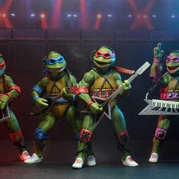 NECA TMNT SDCC Exclusive: Coming Out Of Our Shells Set