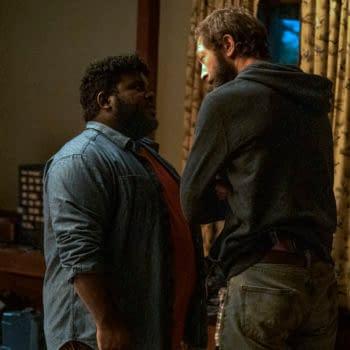 Ebon Moss-Bachrach as Chris McQueen, Ashleigh Cummings as Vic McQueen - NOS4A2 _ Season 2, Episode 5 - Photo Credit: Jojo Whilden/AMC