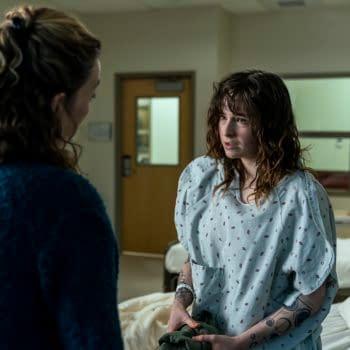 Virginia Kull as Linda McQueen, Ashleigh Cummings as Vic McQueen - NOS4A2 _ Season 2, Episode 6 - Photo Credit: Zach Dilgard/AMC