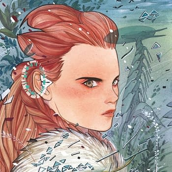 Watch Peach Momoko Draw Horizon Zero Dawn SDCC Variant