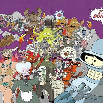 Obscure Comics: Futurama Returns from 2007 at SDCC &#038 Best Buy