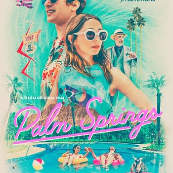 New Palm Springs Poster Revealed Ahead Of Next Weeks Debut On Hulu