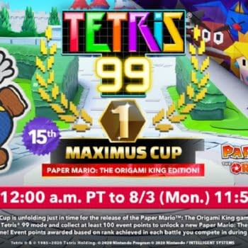 Tetris 99 Is Throwing A New Paper Mario-Themed Maximus Cup